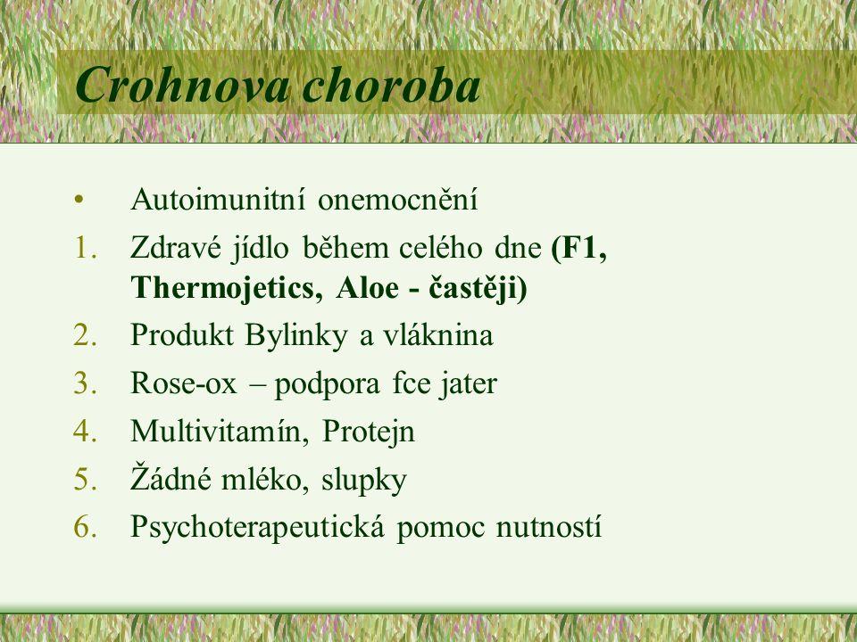 Crohnova choroba Autoimunitní onemocnění