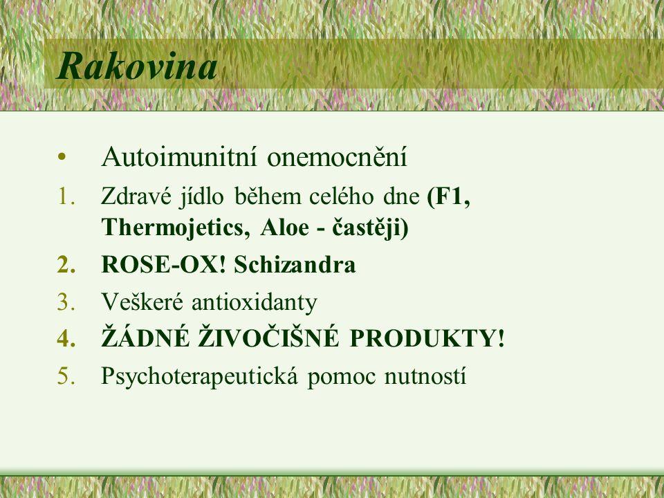 Rakovina Autoimunitní onemocnění