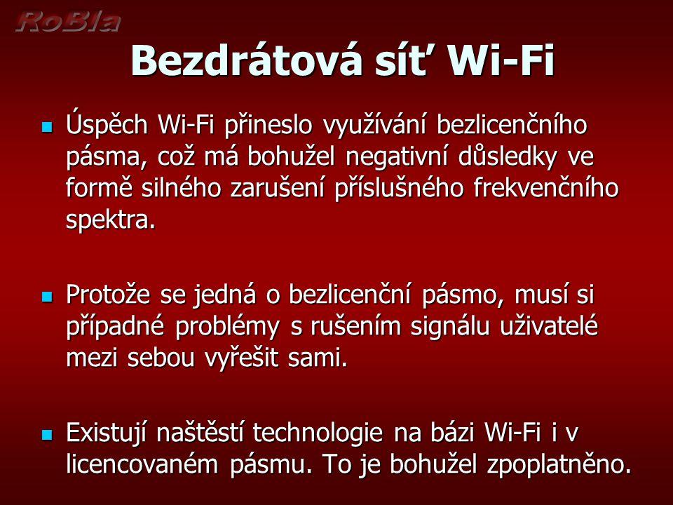 Bezdrátová síť Wi-Fi