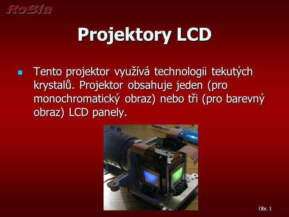 Projektory LCD