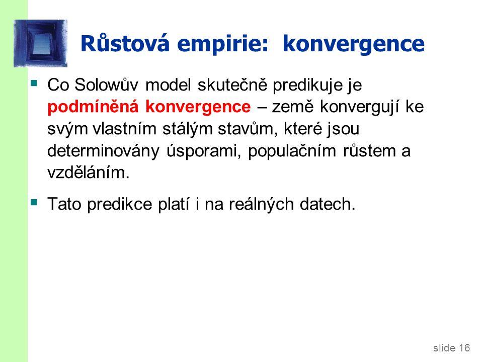 Konvergence (empirie)
