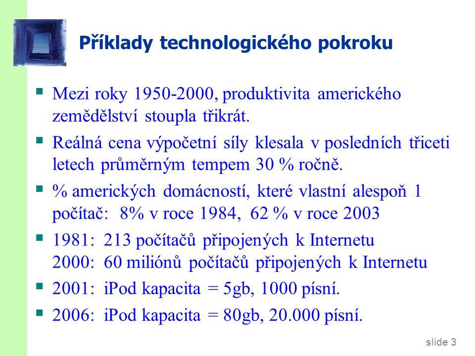 7.1. Technologický pokrok v Solowově modelu