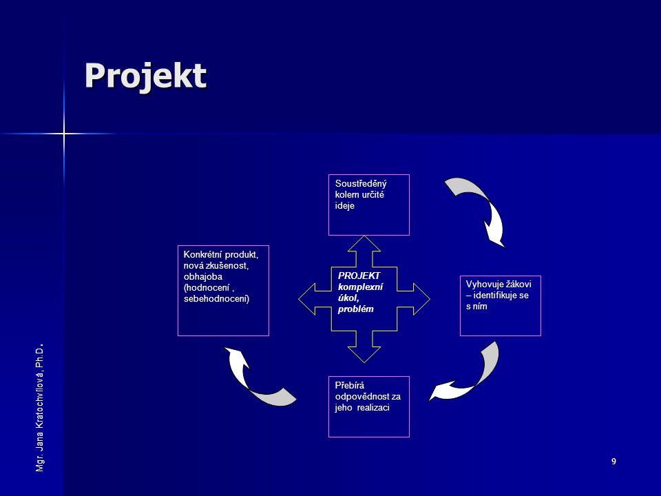 Projekt Soustředěný kolem určité ideje
