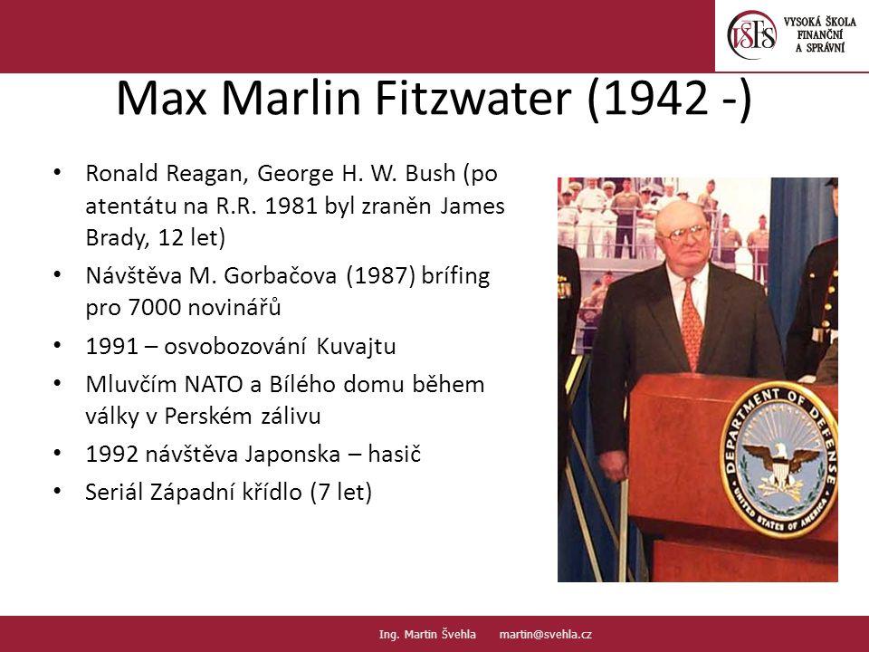 Max Marlin Fitzwater (1942 -)