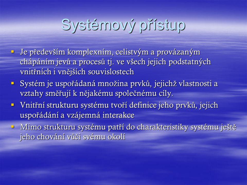 Systémový přístup
