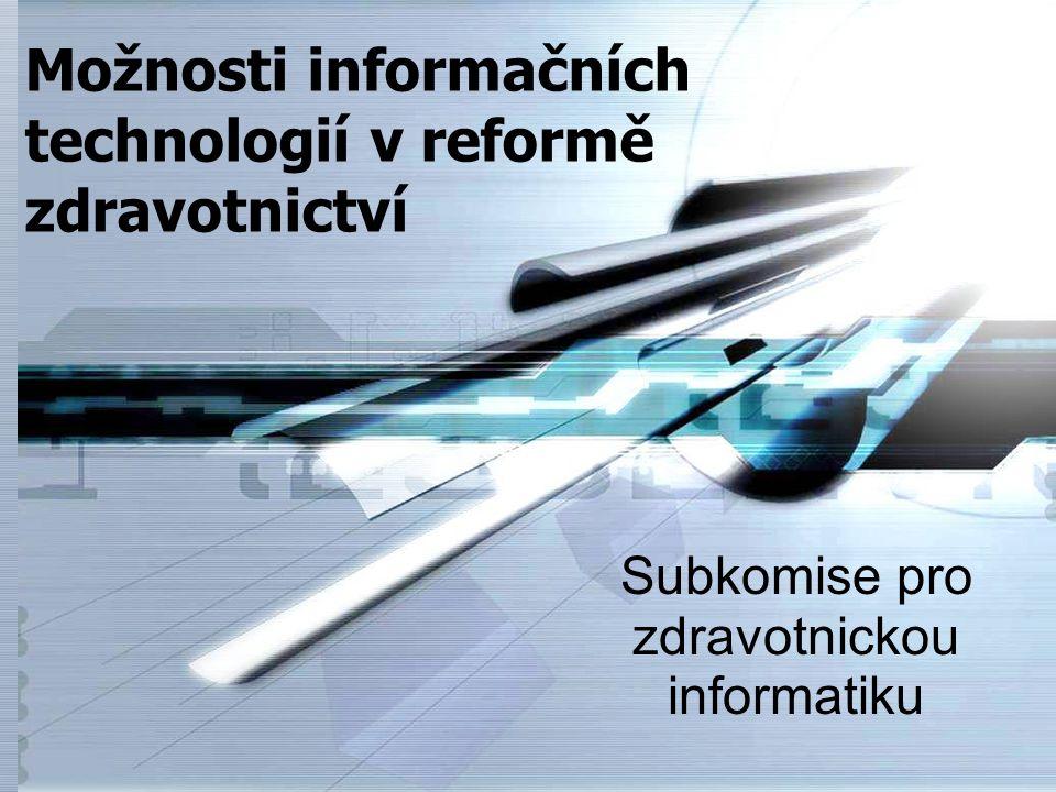 Subkomise pro zdravotnickou informatiku