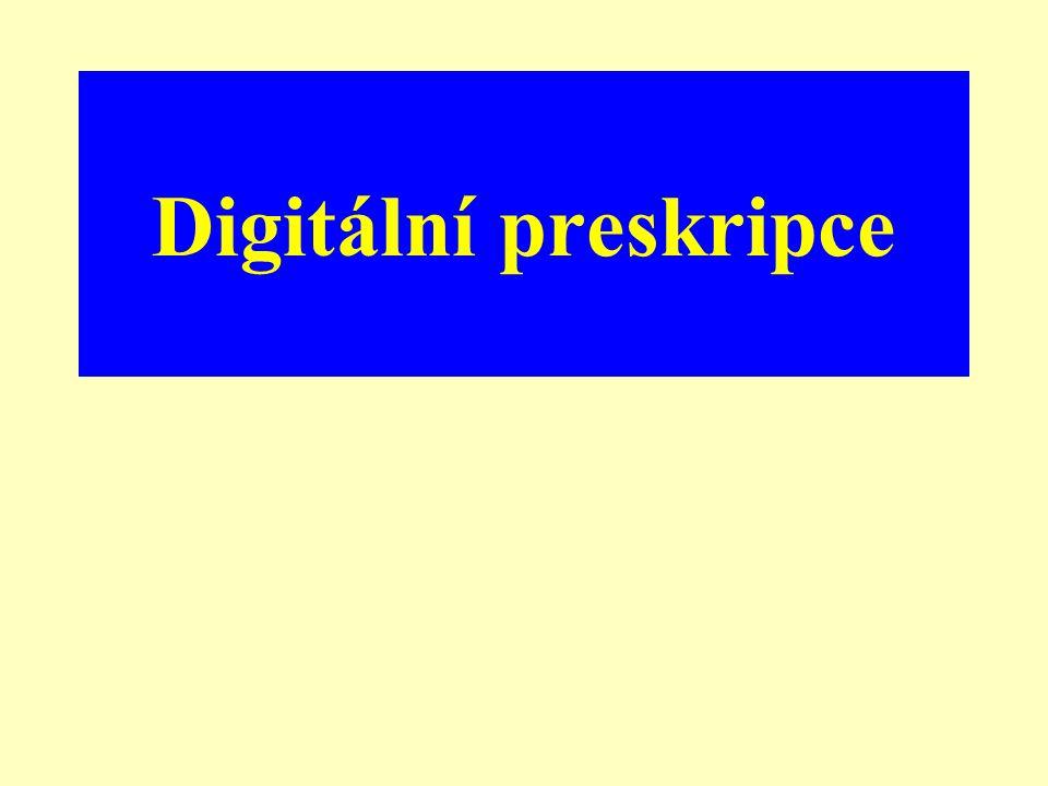 Digitální preskripce