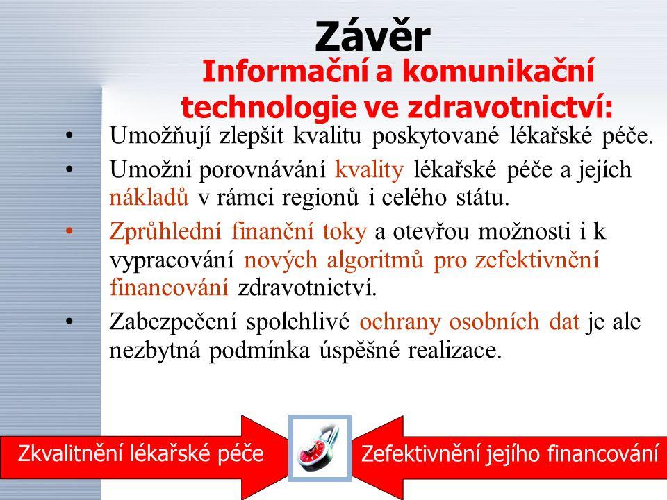 Informační a komunikační technologie ve zdravotnictví: