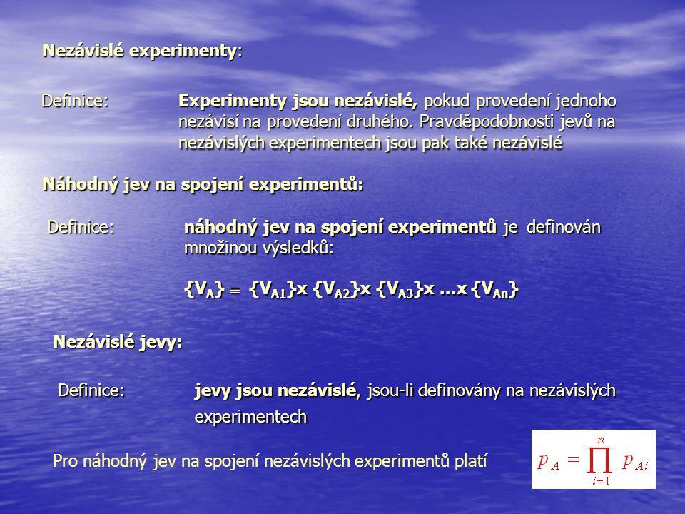 Nezávislé experimenty: