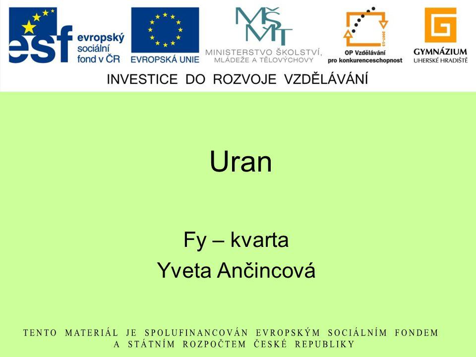 Fy – kvarta Yveta Ančincová