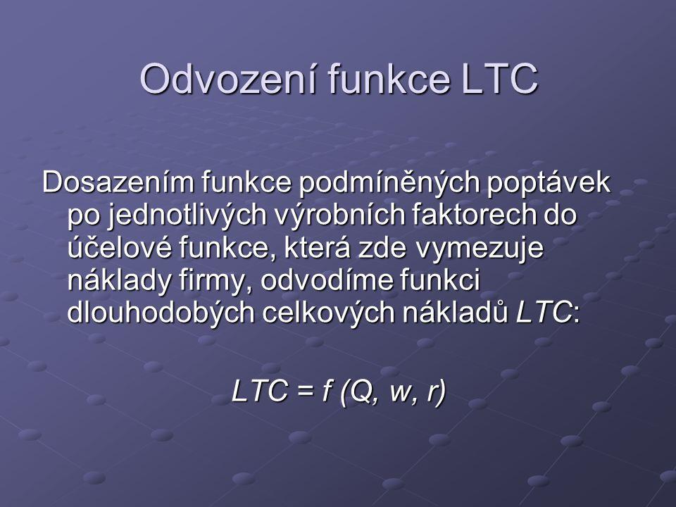 Odvození funkce LTC