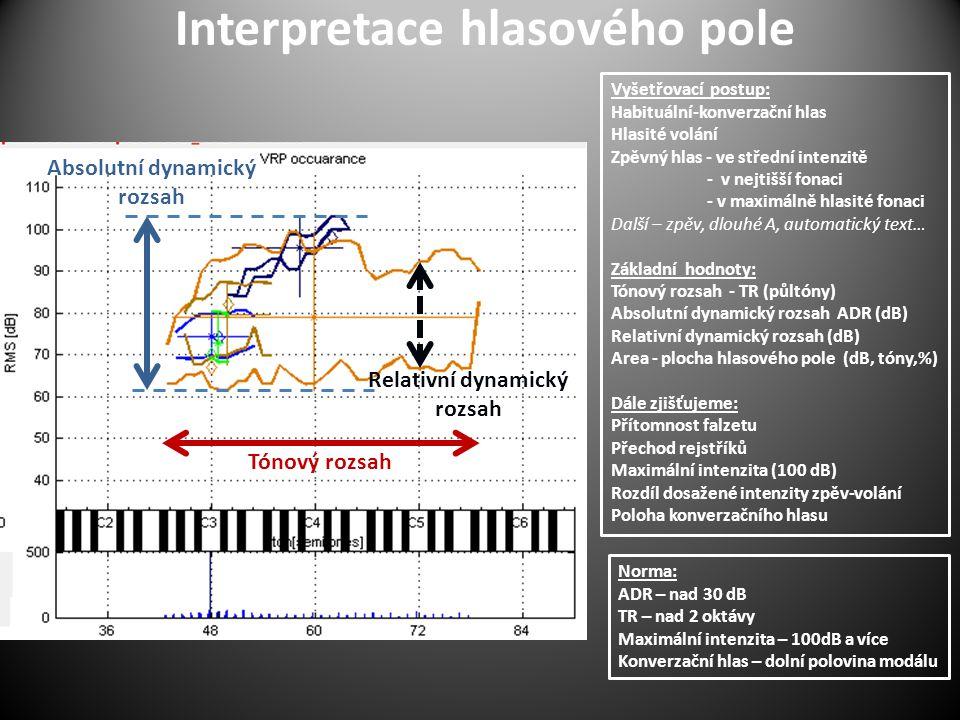 Interpretace hlasového pole
