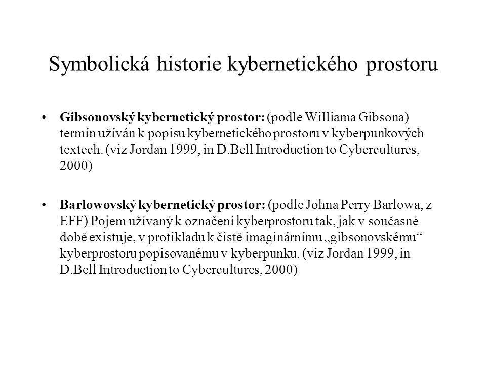 Symbolická historie kybernetického prostoru