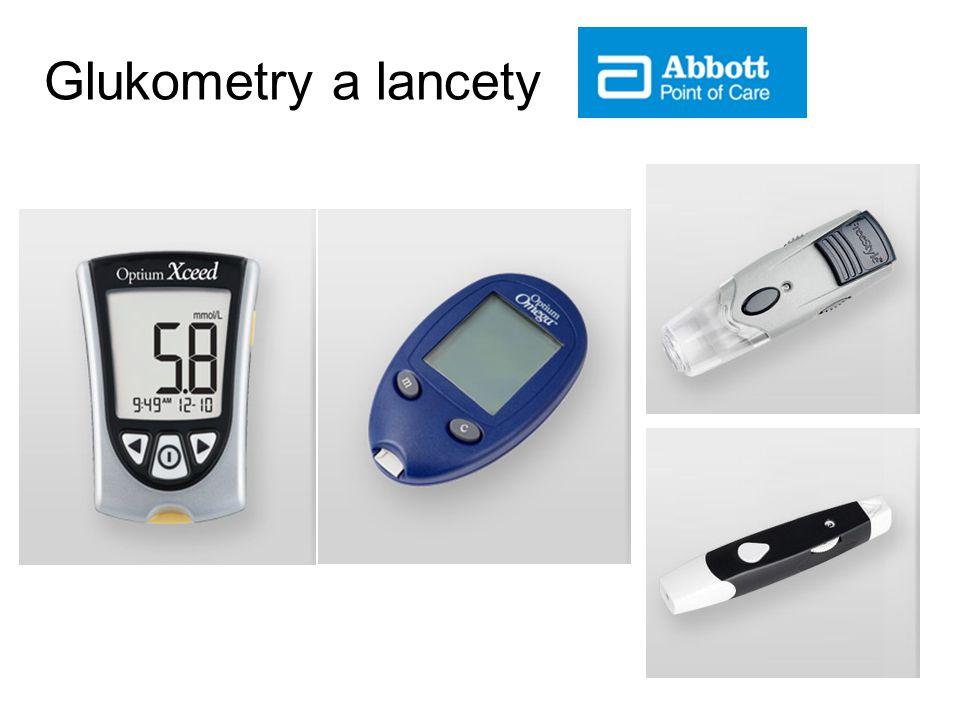 Glukometry a lancety 11