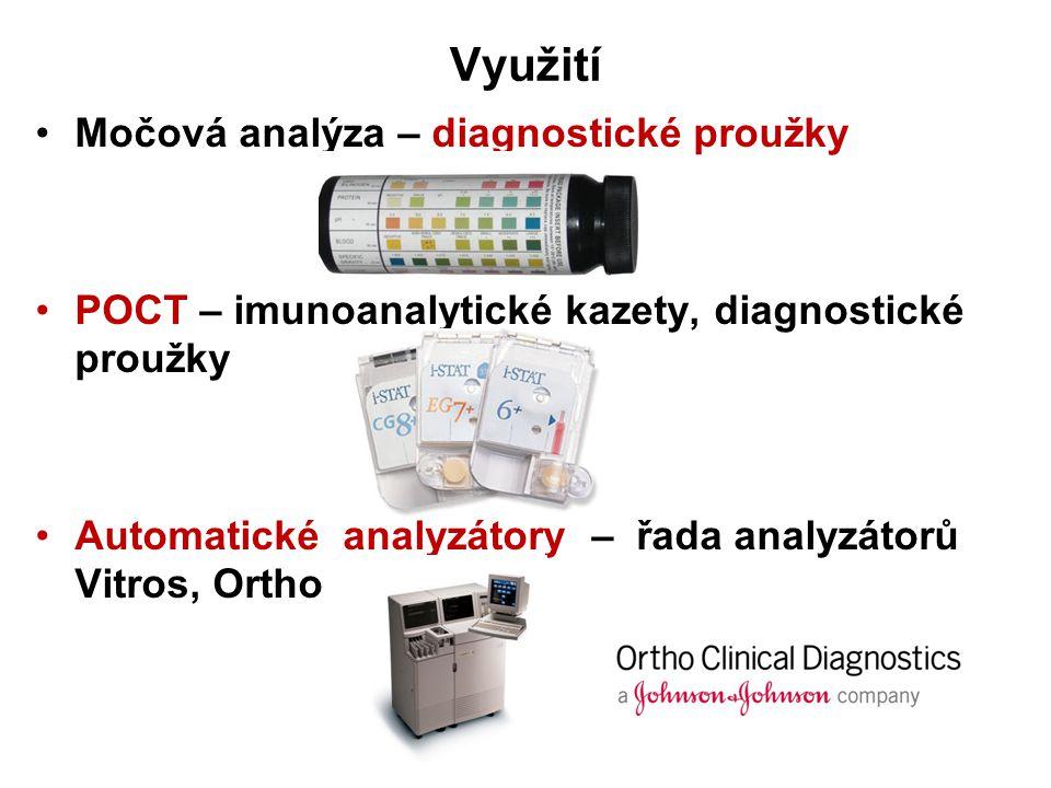 Využití Močová analýza – diagnostické proužky