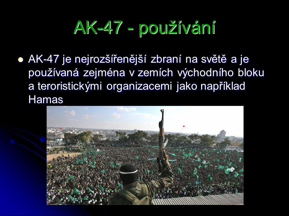 AK-47 - používání