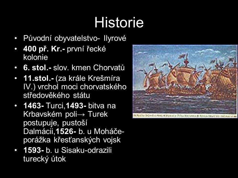 Historie Původní obyvatelstvo- Ilyrové