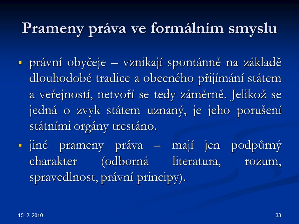 Prameny práva ve formálním smyslu