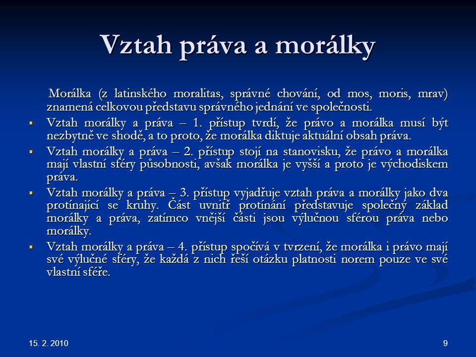 Vztah práva a morálky