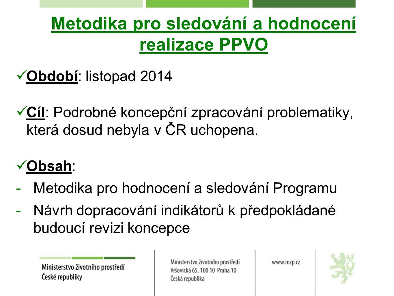 Metodika pro sledování a hodnocení realizace PPVO