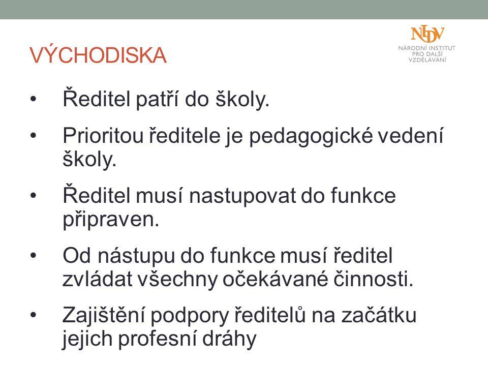 Prioritou ředitele je pedagogické vedení školy.