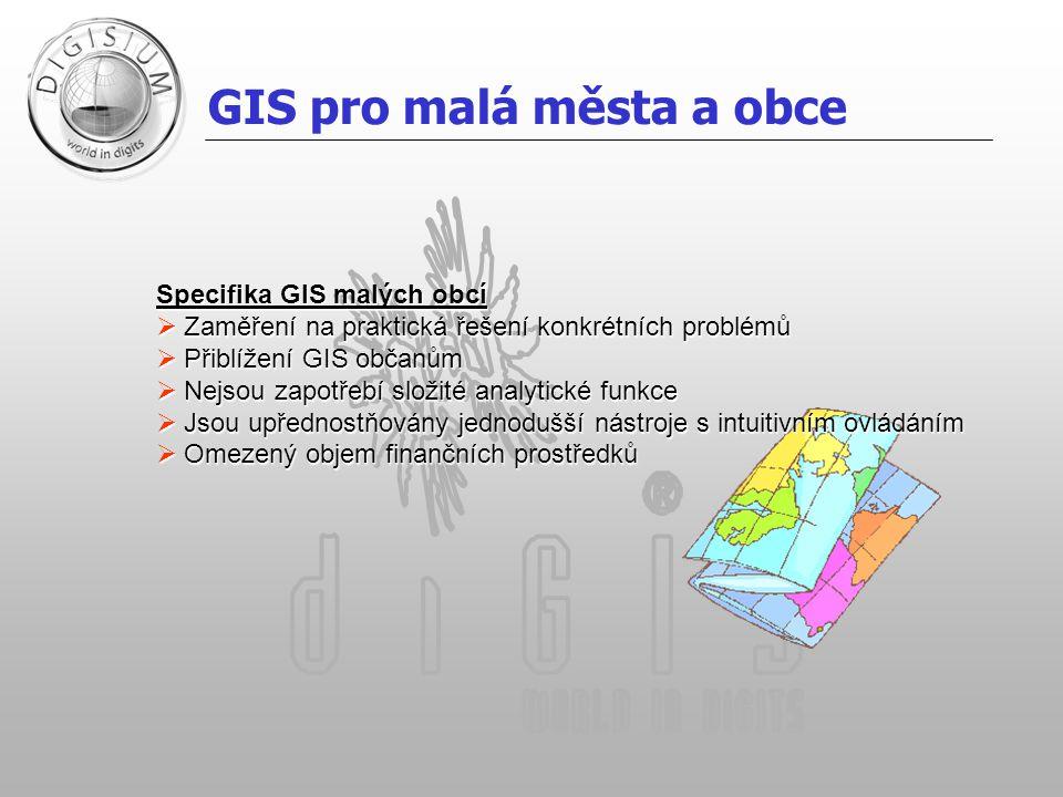 GIS pro malá města a obce