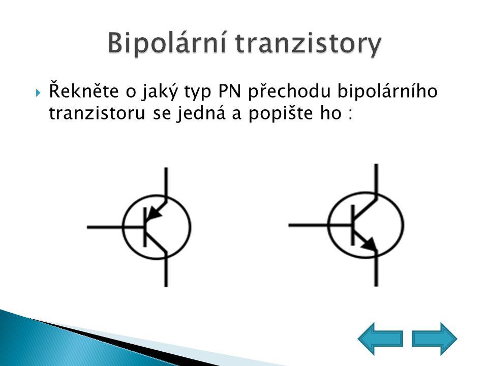 Bipolární tranzistory