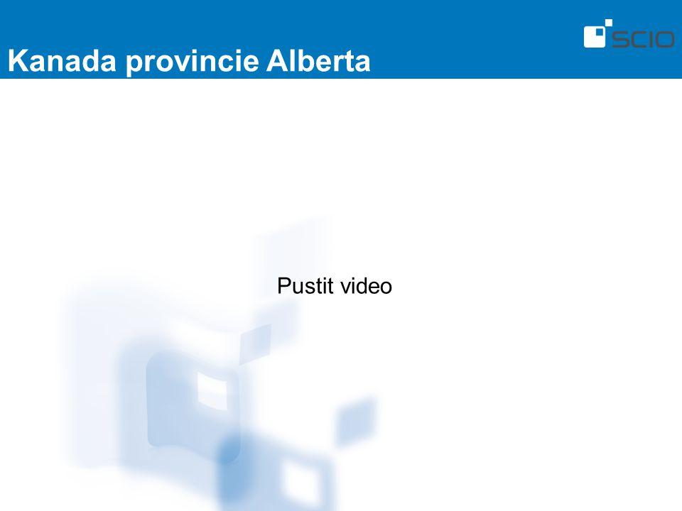 Kanada provincie Alberta