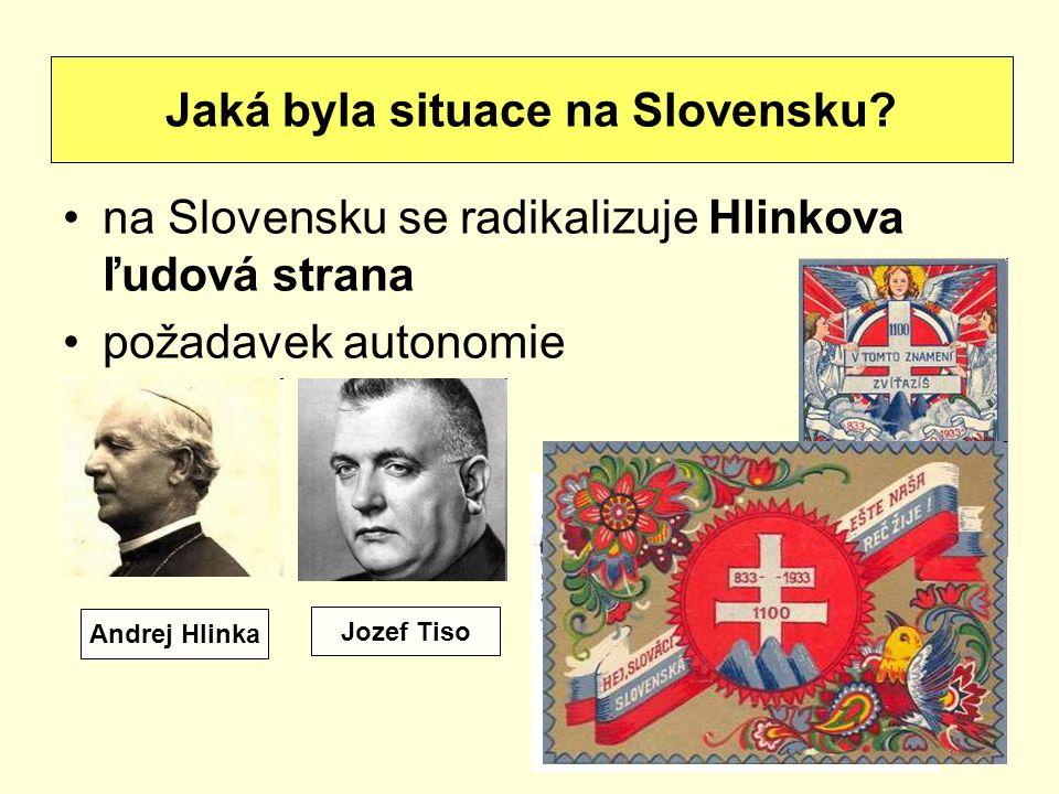 Jaká byla situace na Slovensku