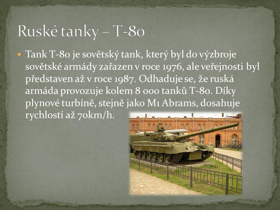 Ruské tanky – T-80