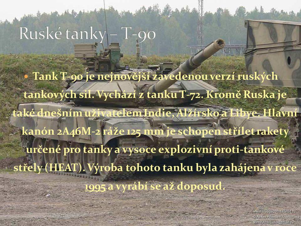Ruské tanky – T-90