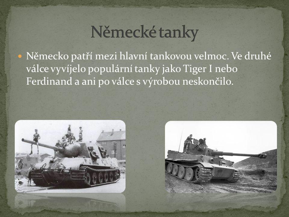Německé tanky