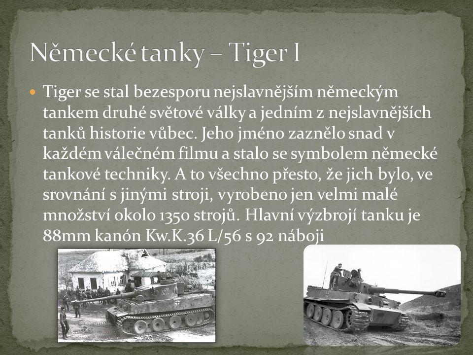 Německé tanky – Tiger I
