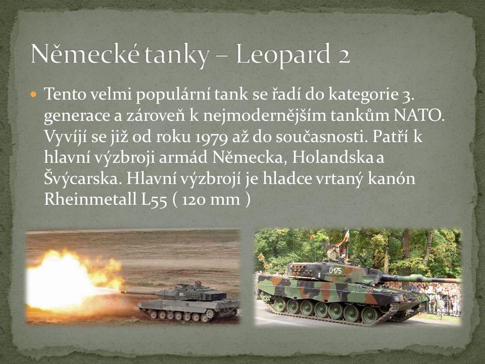 Německé tanky – Leopard 2