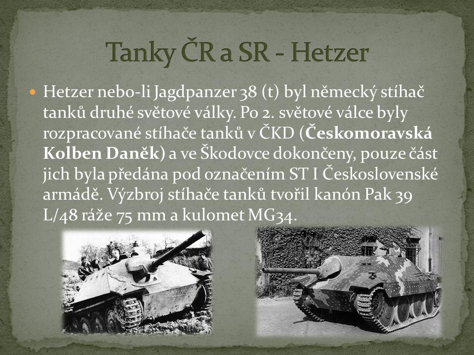 Tanky ČR a SR - Hetzer