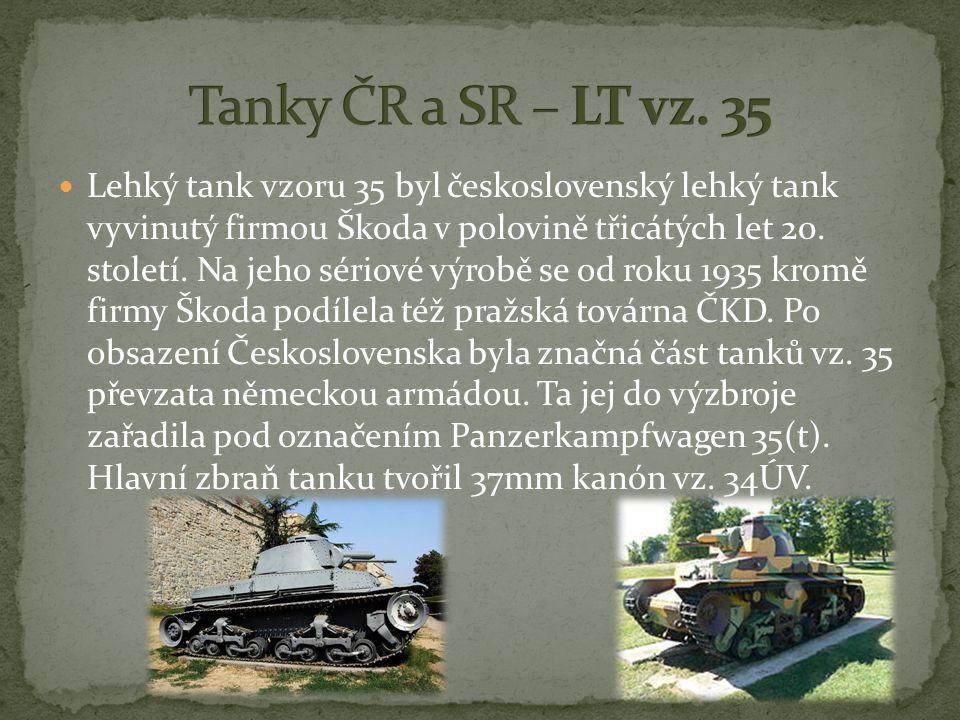 Tanky ČR a SR – LT vz. 35