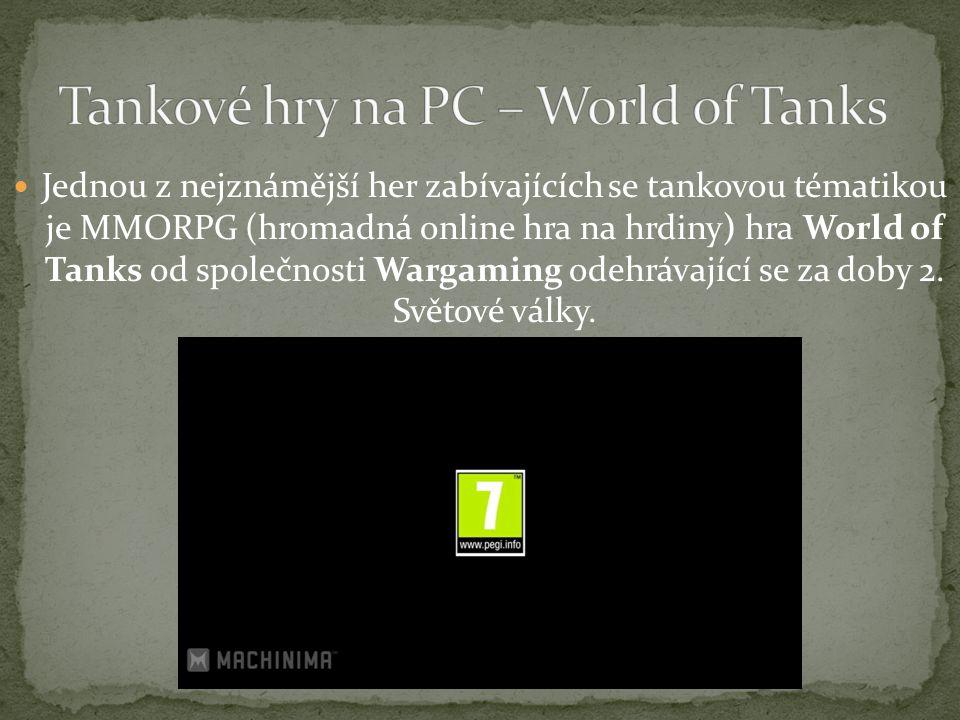 Tankové hry na PC – World of Tanks