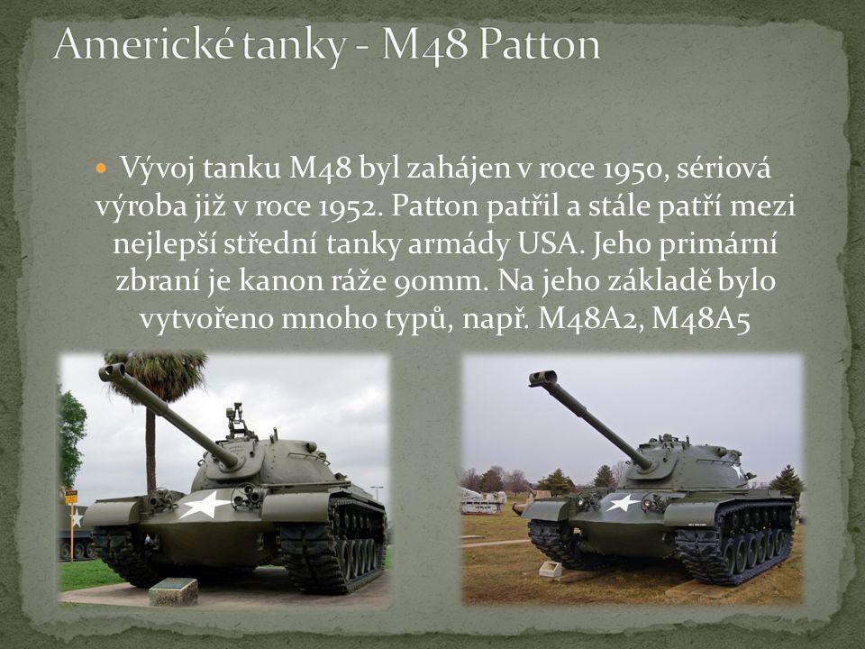 Americké tanky - M48 Patton