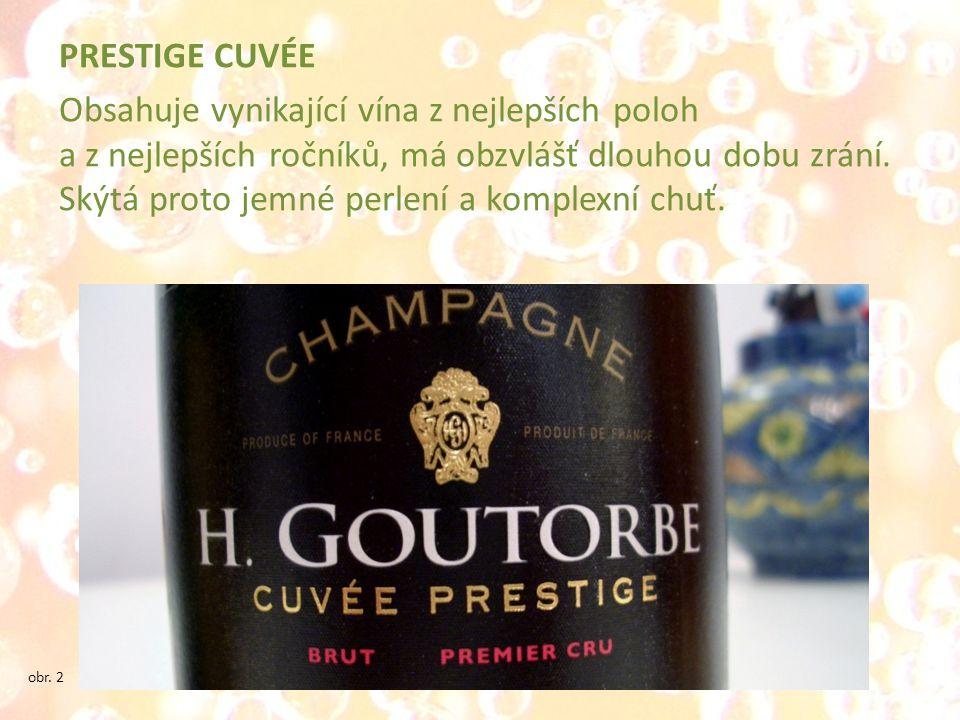 PRESTIGE CUVÉE Obsahuje vynikající vína z nejlepších poloh a z nejlepších ročníků, má obzvlášť dlouhou dobu zrání. Skýtá proto jemné perlení a komplexní chuť.