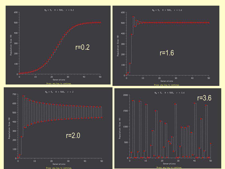r=0.2 r=1.6 r=3.6 r=2.0