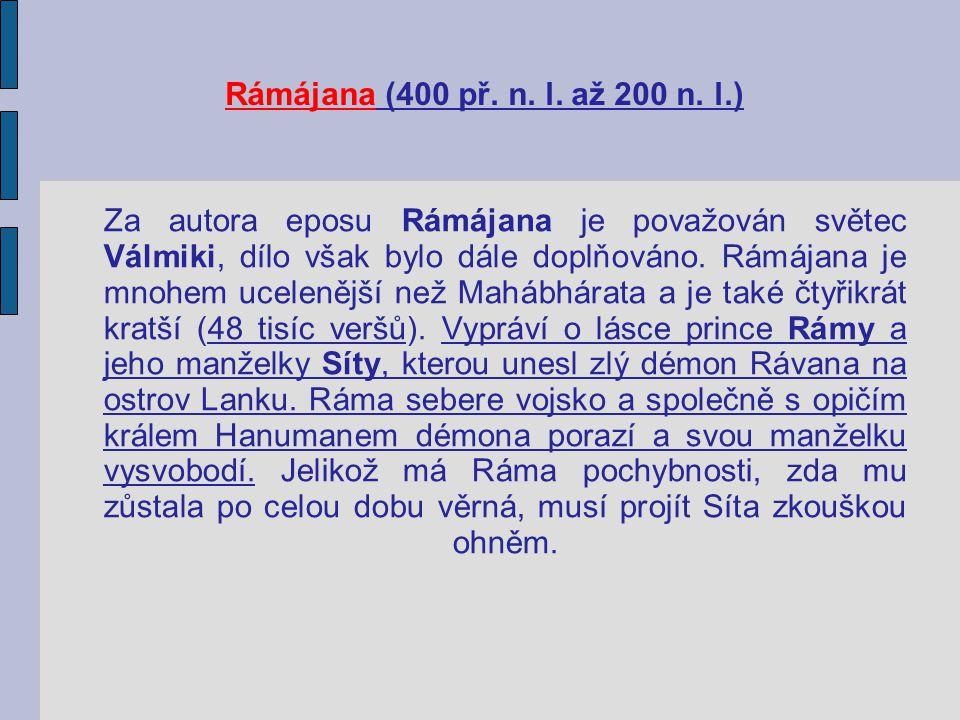 Rámájana (400 př. n. l. až 200 n. l.)