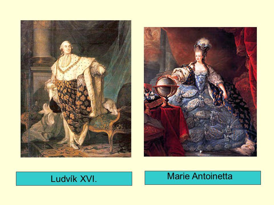 Marie Antoinetta Ludvík XVI.