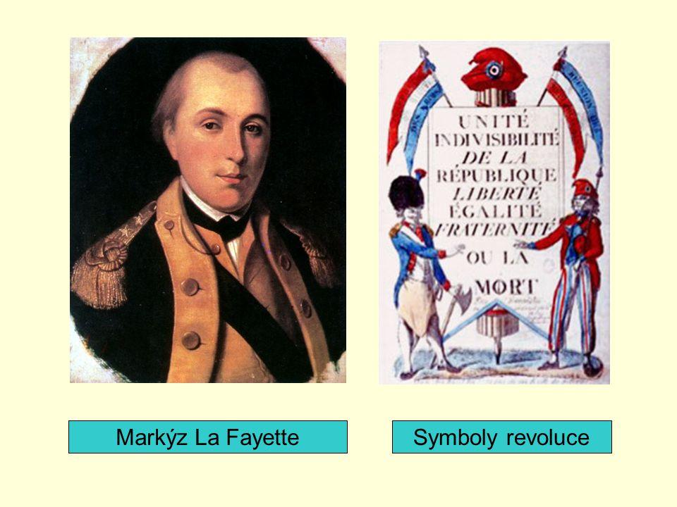 Markýz La Fayette Symboly revoluce