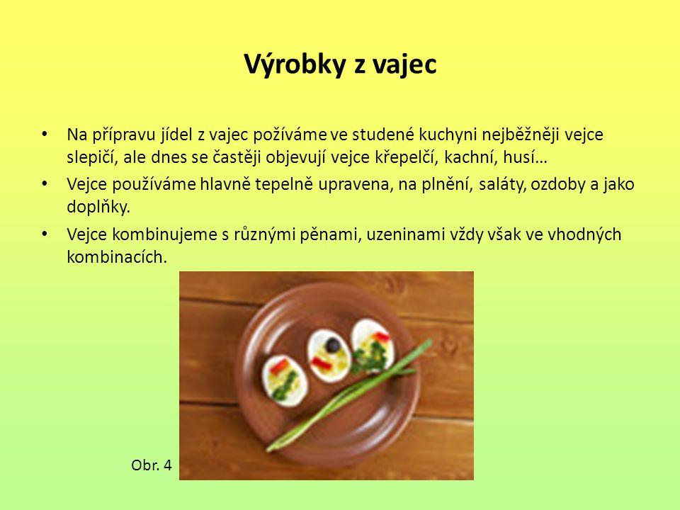 Výrobky z vajec