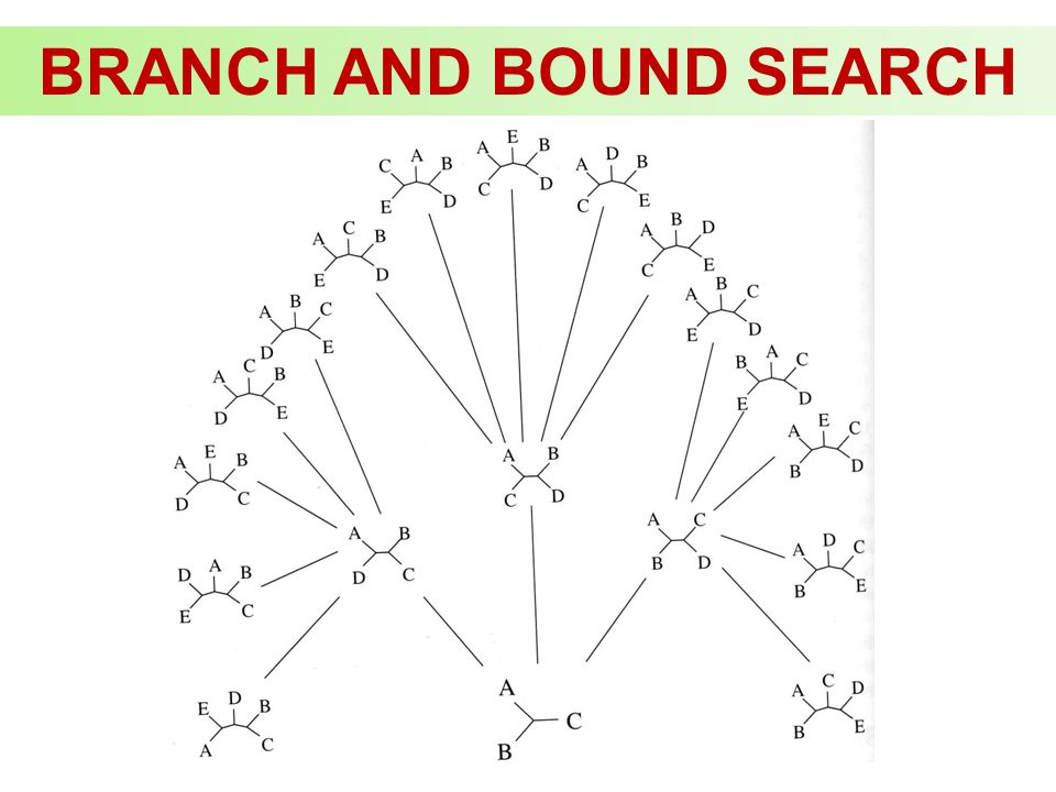 BRANCH AND BOUND SEARCH