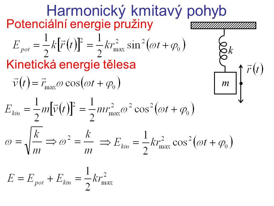 Harmonický kmitavý pohyb