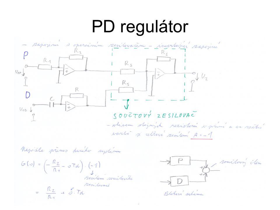 PD regulátor