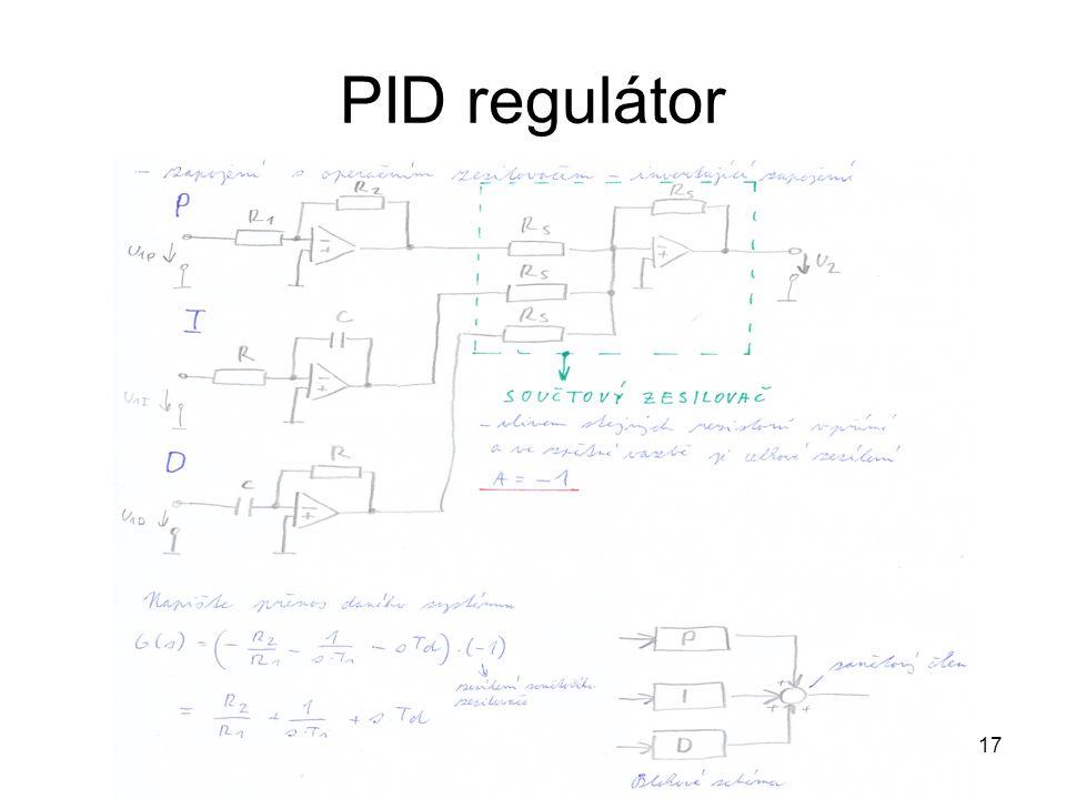 PID regulátor