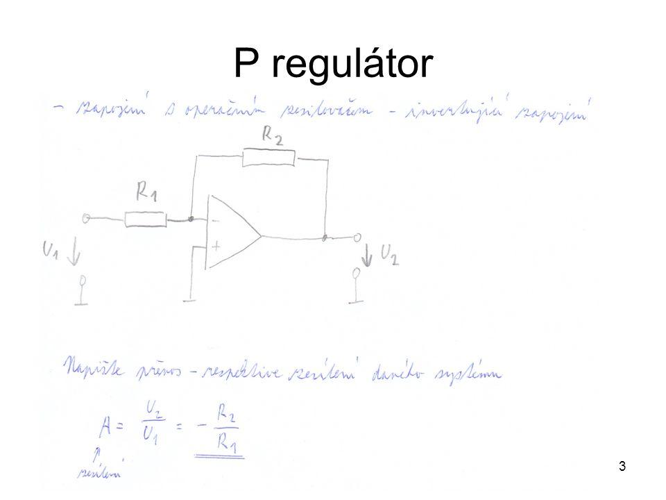 P regulátor