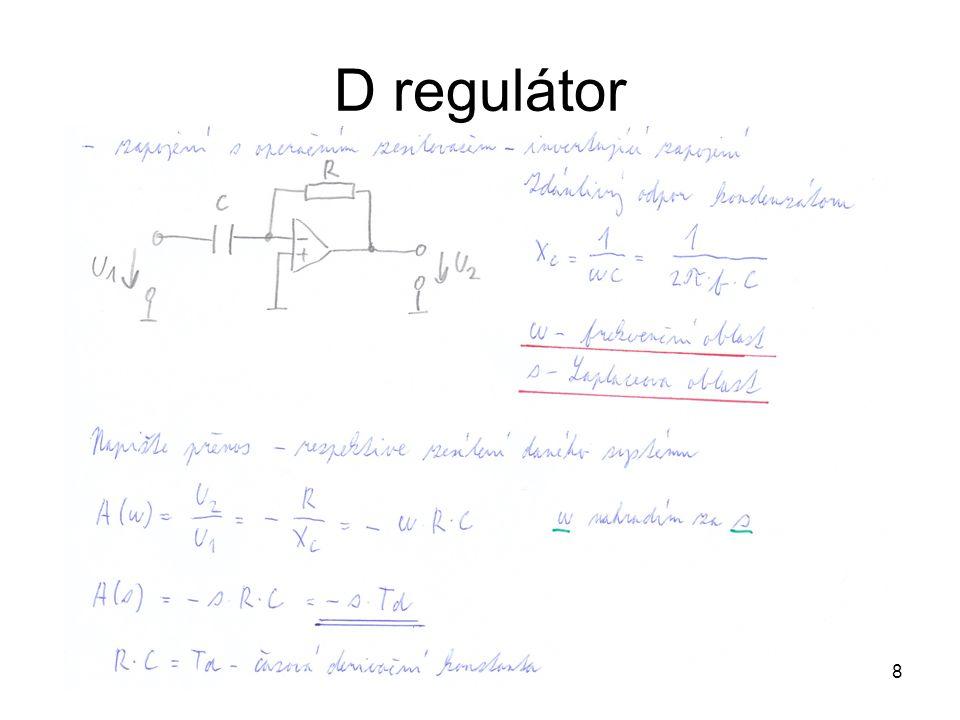 D regulátor